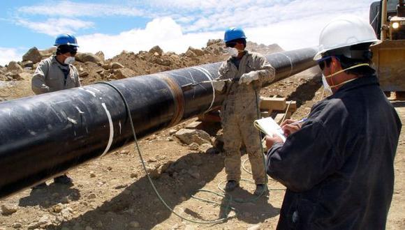 Un duro camino. Proyecto para llevar gas natural a las ciudades del sur del país ha sufrido reiterados cambios y retrasos. (USI)