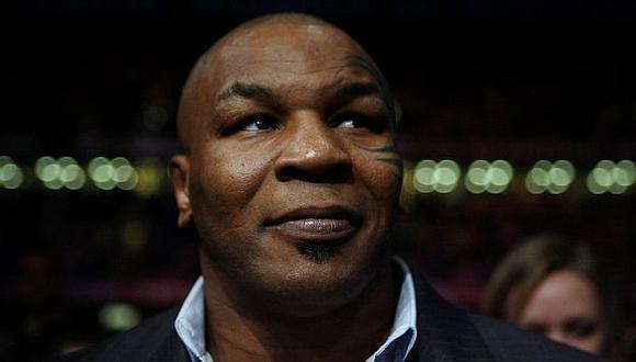Mike Tyson habló sobre la esperada pelea entre Floyd Mayweather y Manny Pacquiao. (AP)
