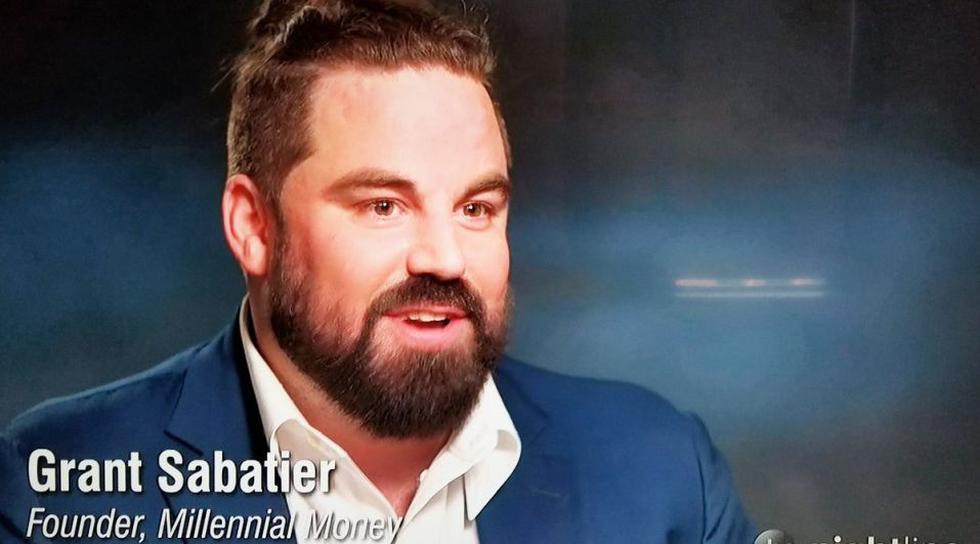 La historia de éxito de Grant Sabatier ha llamado la atención de diverso medios estadounidenses. (Captura: ABC News)