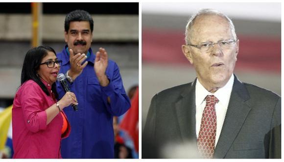Delcy Rodríguez se expresó a favor de la renuncia de PPK (Reuters/Perú21).