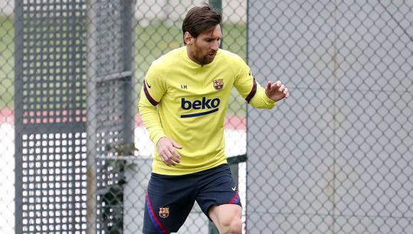 Lionel Messi es el máximo anotador de LaLiga Santander, con 19 goles. (Foto: AFP)