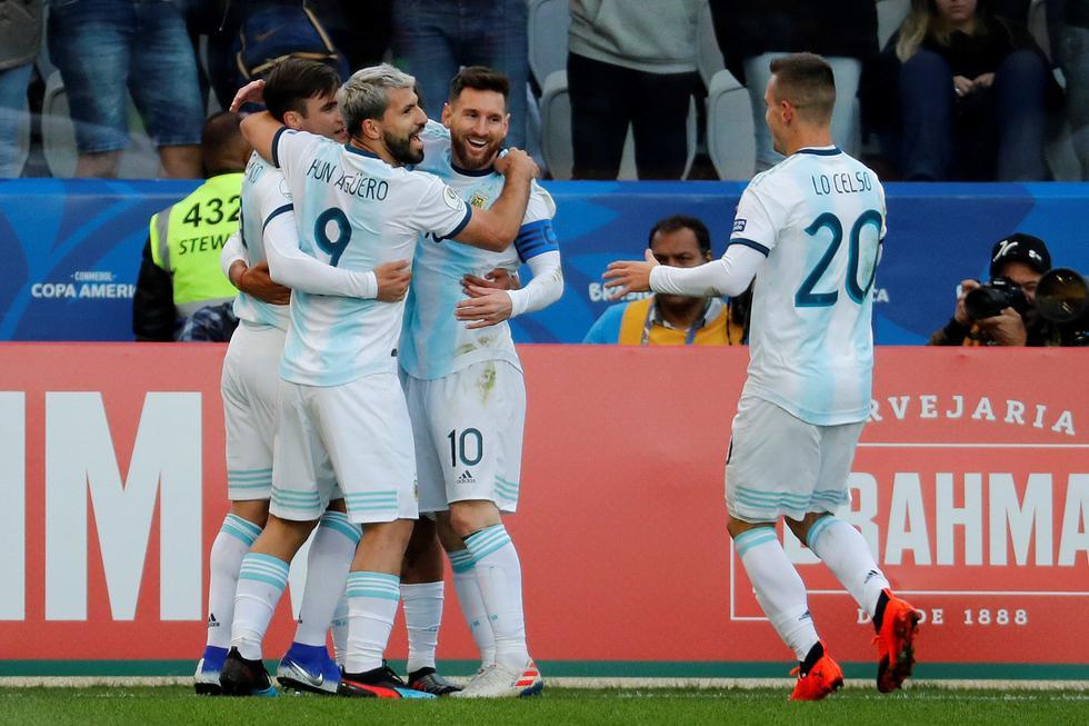 Chile vs. Argentina por el tercer puesto de la Copa América 2019. (Foto: EFE)