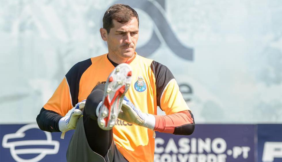 Iker Casillas, a los 37 años, le pone fin a la temporada 2018-19. (Foto: FC Porto)