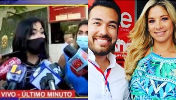 Mamá de Álvaro de la Barra se pronuncia sobre agresión de Sofía Franco. (Foto: captura de video)