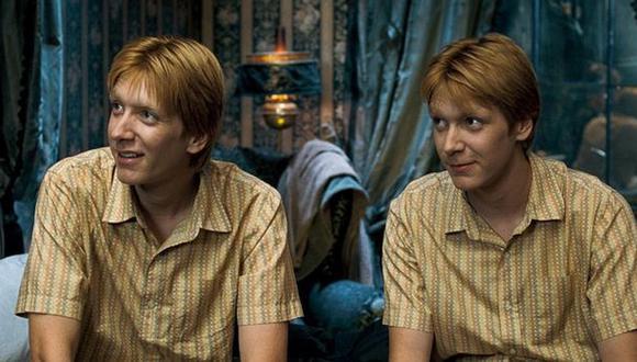 Los gemelos Weasley se volvieron en los personajes populares entre los fanáticos de Harry Potter (Foto: Warner Bros.)