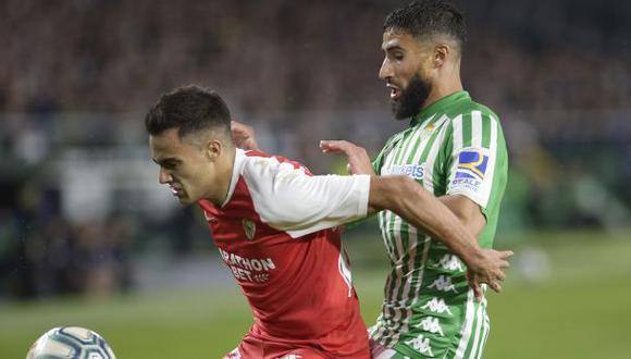 Sevilla vs. Real Betis: se miden por la jornada 28 de LaLiga Santander en el Sánchez Pizjuán. (Foto: AFP)