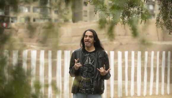 Alex Rojas es el hijo de Gerardo Manuel y la voz del grupo de rock Frágil. (Foto: José Rojas).