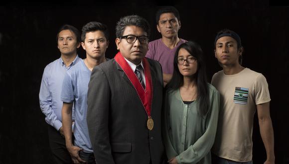 Grupo de actores de 'Casos Complejos' (Foto: Productora Cine de Barrio)