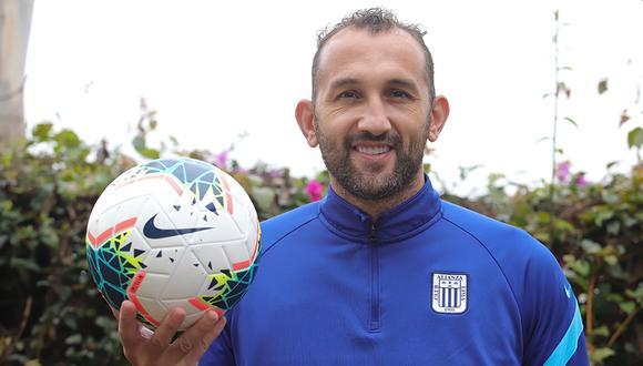 Hernán Barcos tiene siete goles en la temporada de la Liga 1. (Foto: Alianza Lima)