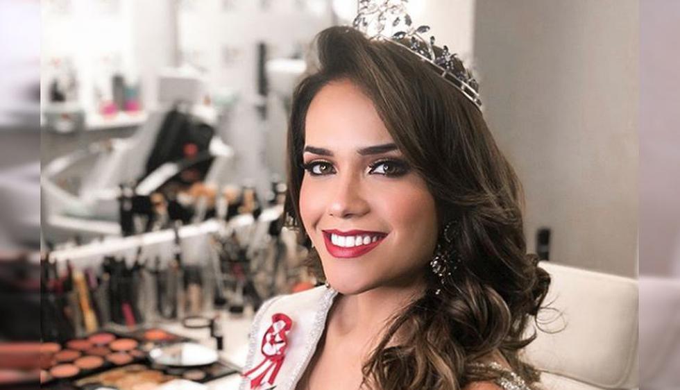 Miss Perú Mundo 2018 (Instagram: @emauricci)