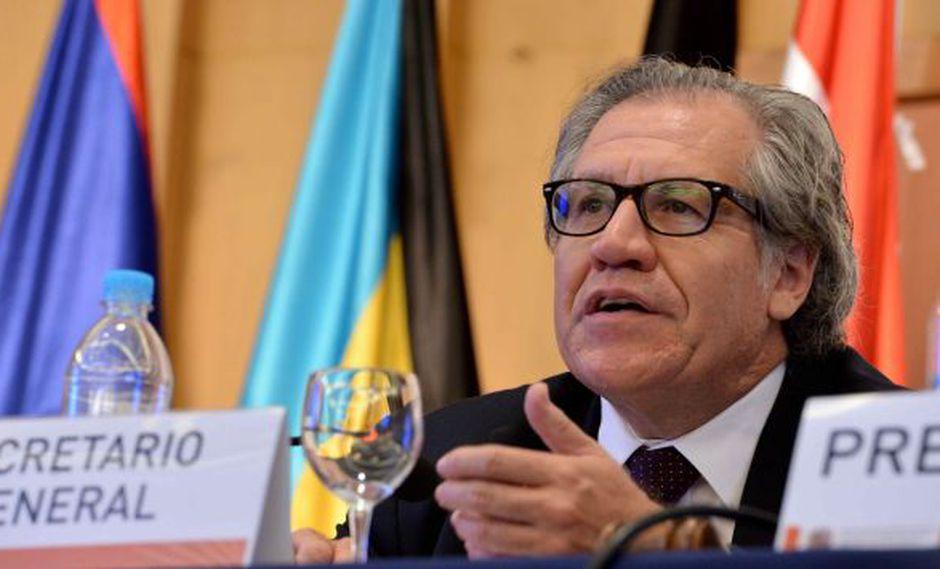 No es la primera vez que Luis Almagro, jefe de la OEA, hace duras críticas al gobierno de Venezuela. (EFE)