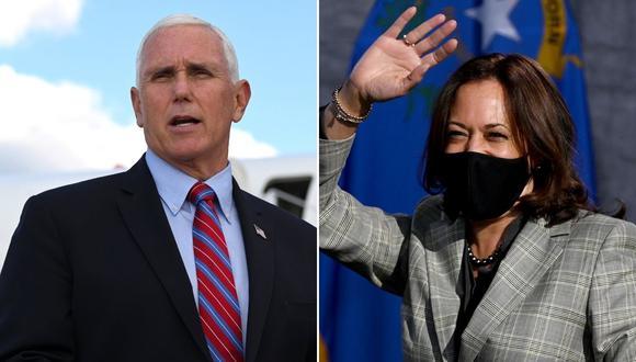 Candidatos a la vicepresidencia debatirán separados por una mampara. (AFP)