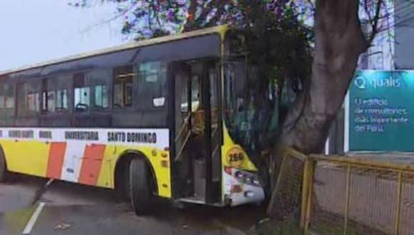 Av. Brasil bloqueada tras accidentes esta madrugada en Jesús María. (América Noticias)