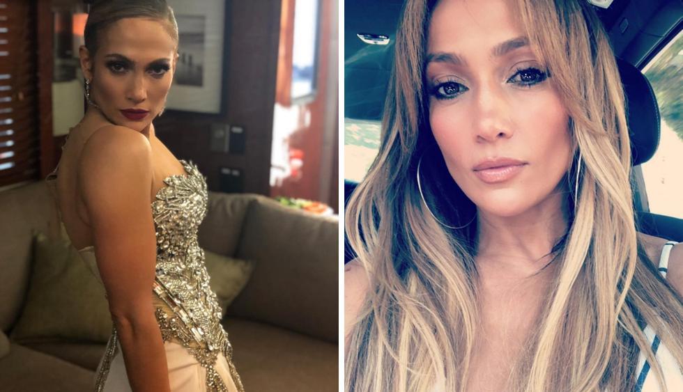 Jennifer Lopez muestra su esbelta figura en el set del film 'Hustlers' (Foto: Instagram)