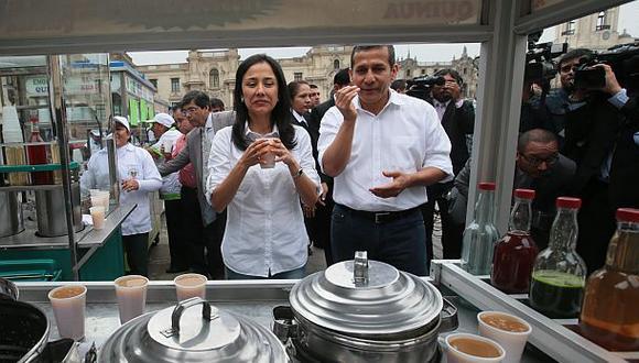 A Ollanta Humala y Nadine Heredia se les acusa del delito de lavado de activos. (GEC)