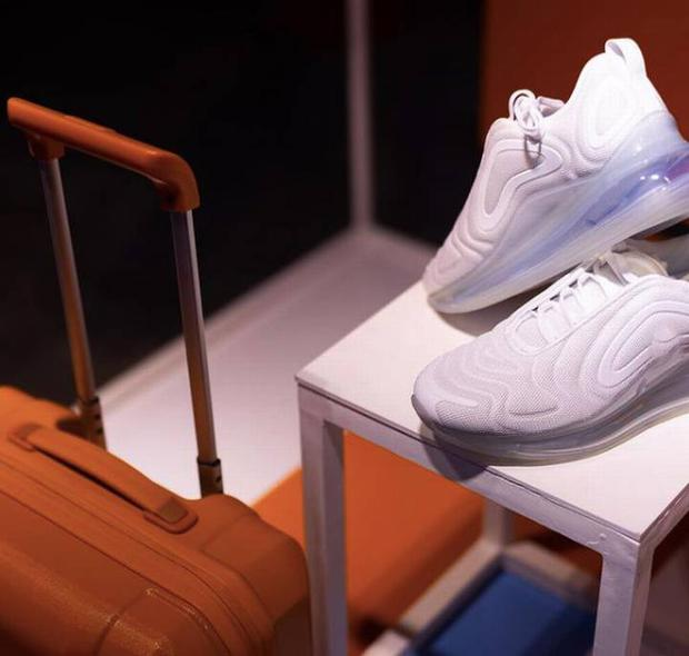 These are the shoes that the flight attendants will wear