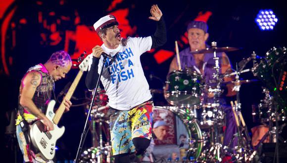 """Los Red Hot Chili Peppers saltaron a la fama con su quinto álbum de estudio, el """"Blood Sugar Sex Magik"""" de 1991. (Foto: AFP)"""