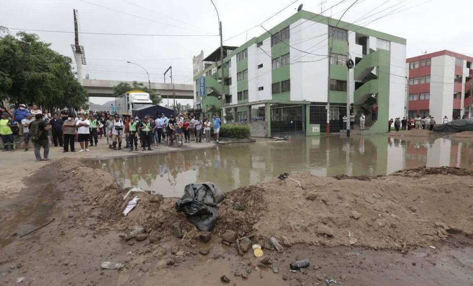 Tras el aniego, los vecinos denuncian que no tienen agua y que las pistas han quedado en muy mal estado. (Foto: Anthony Niño de Guzmán)