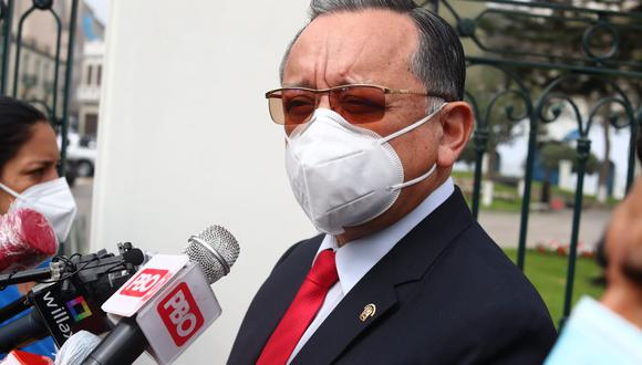 Edgar Alarcón tiene varias denuncias constitucionales en su contra. (Foto: GEC)