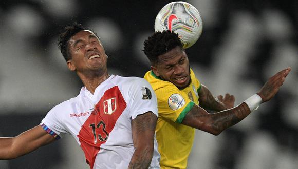 Perú perdió por 1-0 ante Brasil por las semifinales de Copa América 2021. (Foto: AFP)