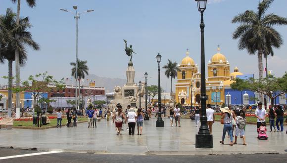 Obra en la Plaza de Armas de Trujillo sigue bajo la lupa.