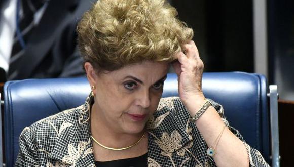 Dilma Rousseff fue separada inmediatamente de la presidencia de Brasil pero no fue inhabilitada políticamente (Efe).