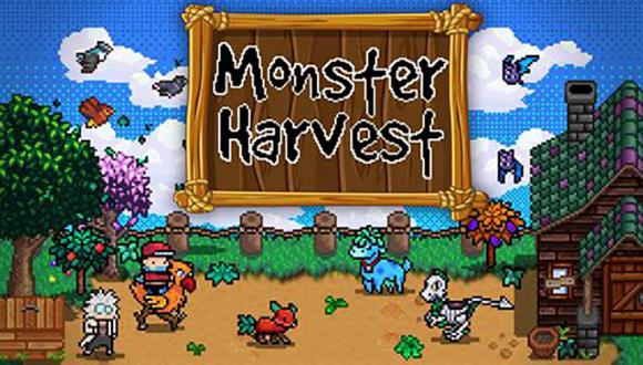 'Monster Harvest' es un simulador de granja que mezcla lo ya conocido a la captura y batalla de monstruos.