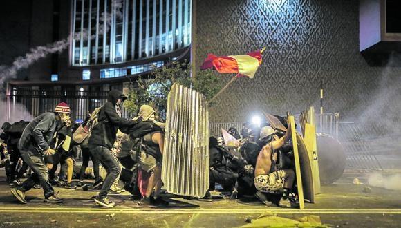 La segunda marcha contra el régimen de Manuel Merino se saldó con dos muertos el pasado 14 de noviembre. (Foto: Anthony Niño de Guzmán / GEC)