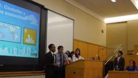 Estudiantes de San Marcos viajaron a EE.UU. para realizar pasantía en Harvard
