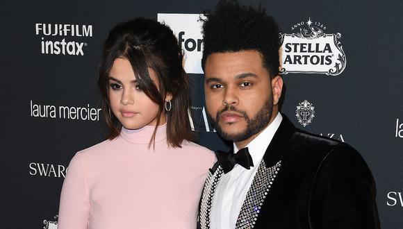 """The Weeknd registró una canción llamada """"Like Selena"""" ¿Una dedicatoria a su expareja?. (Foto: AFP)"""