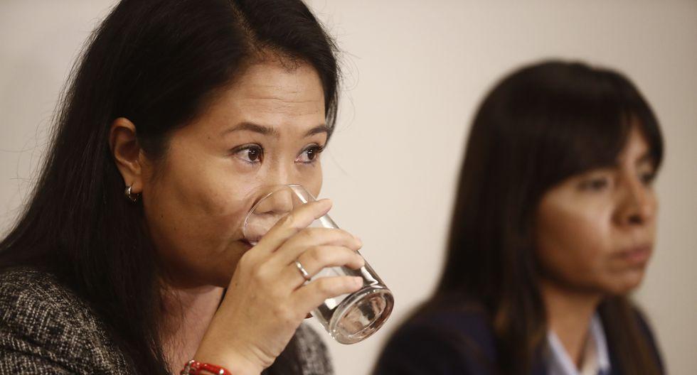 Keiko Fujimori cumple una prisión preventiva de 36 meses. (FOTO: Perú21)
