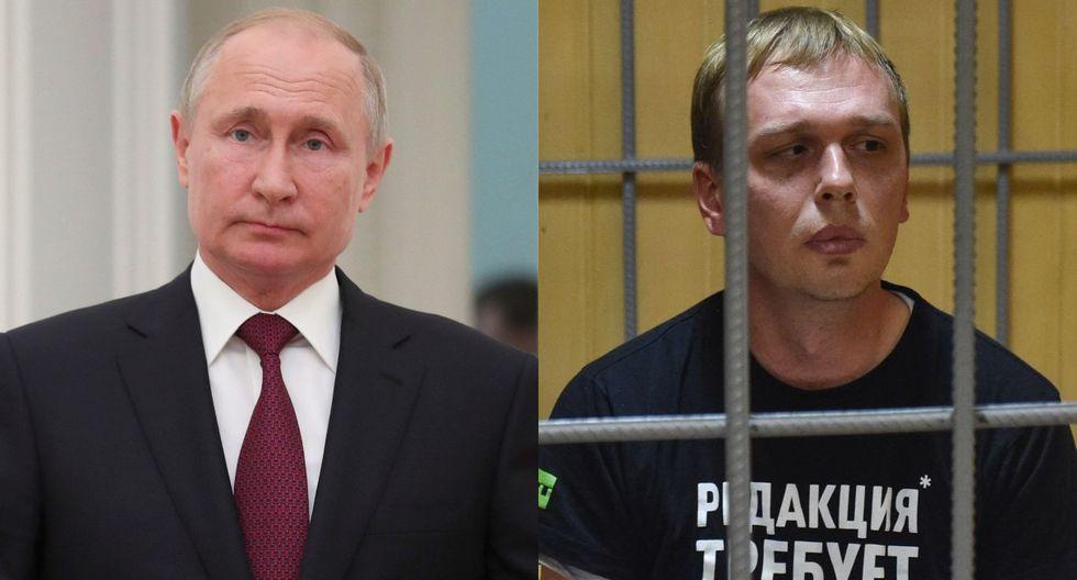 Golunov fue detenido el 6 de junio, después de que la policía hallara supuestamente drogas en su mochila y su domicilio. (Foto: EFE - AFP)