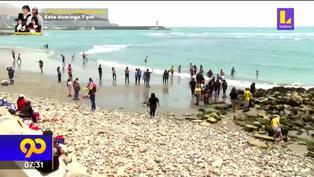 Solo 39 playas en el litoral peruano son consideradas como saludables
