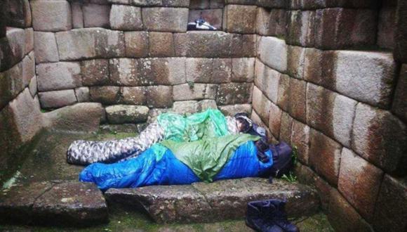 Ambos visitantes fueron sorprendidos cuando se encontraban en un profundo sueño al promediar las 06:30 a.m. de este martes. (Difusión)