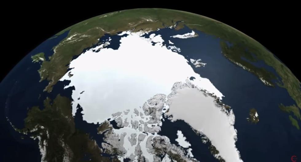 El programa examina los efectos de rotación y gravitacionales de la Tierra para predecir cómo se redistribuirá el agua a nivel mundial. (Captura de YouTube)