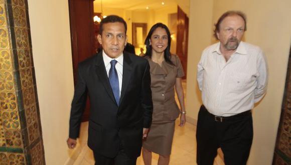 Salomón Lerner fue jefe de campaña de Humala. (Foto: Martín Pauca/Peru21)