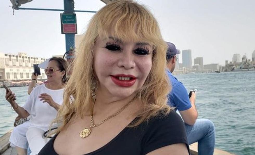 Susy Díaz se vuelve tendencia en redes por su peculiar recorrido turístico en Dubái.