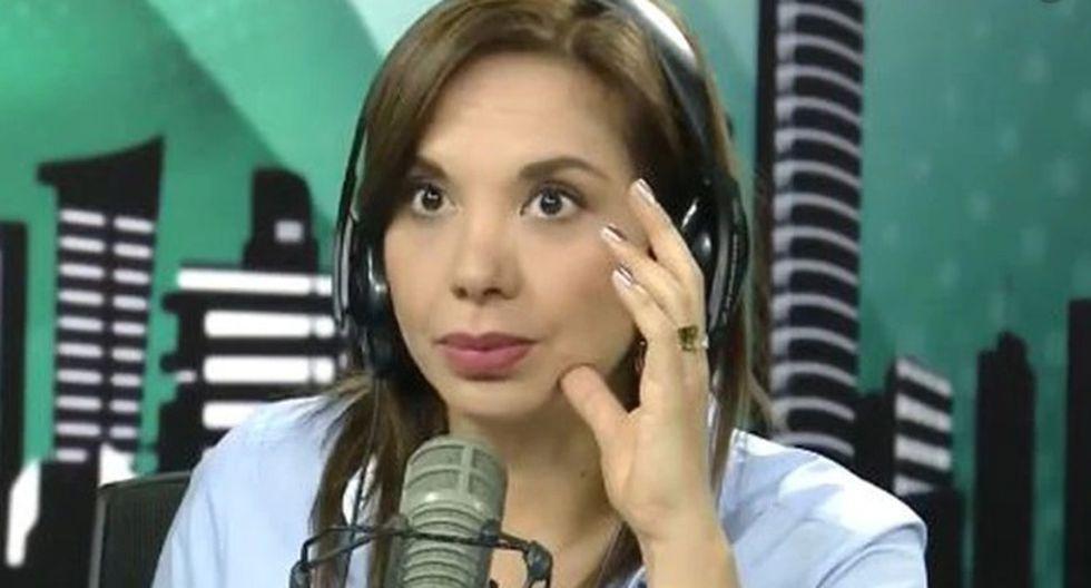 Mónica Cabrejos criticó a Rodrigo González. (Captura)