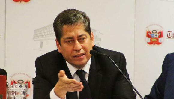 El magistrado del TC Eloy Espinosa-Saldaña pidió que la elección de los nuevos integrantes del tribunal sea transparente. (Foto: Difusión)