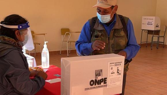 Los primeros resultados oficiales serán publicados por la ONPE a las 11:30 p.m. (GEC).
