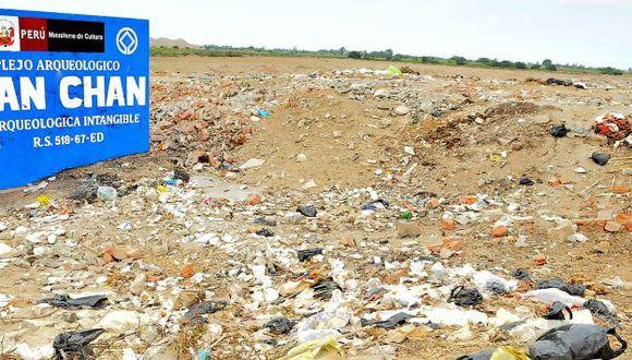 Ciudadela de barro está rodeada de desperdicios. (USI)