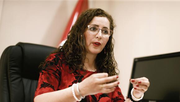 Rosa María Bartra. Congresista de Fuerza Popular y presidenta de la comisión Lava Jato. (Perú21)