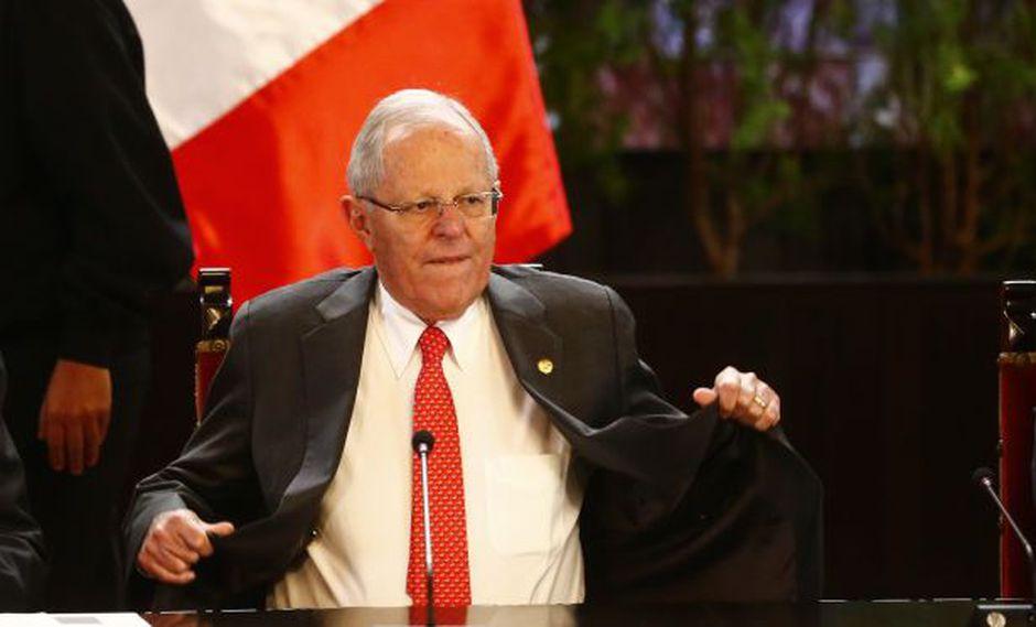 Vacancia a PPK: Presidente alista su defensa legal ante el Congreso. (LuisCenturión/Perú21)