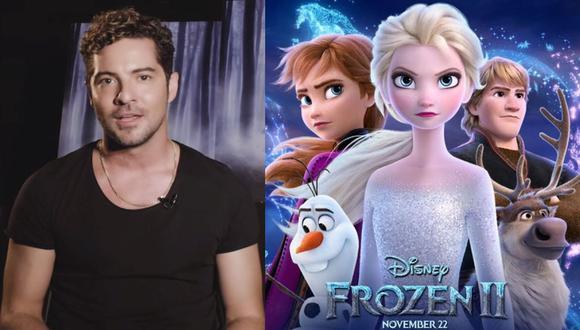 """Así suena """"Mucho más allá"""", la canción de cierre de """"Frozen 2"""", interpretada por David Bisbal. (Foto;: Composición)"""