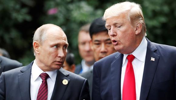 El mandatario estadounidense había anunciado previamente una reunión con Putin en Osaka, aunque la presidencia de Rusia no llegó a confirmar la cita hasta este martes. (Foto: EFE)