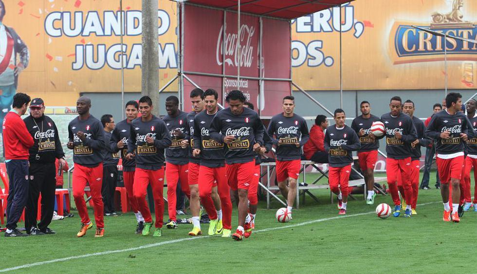 La selección peruana continuó con su segundo día de entrenamiento. (Difusión)