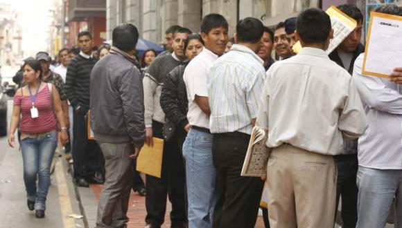 Esperaban una proyección más alta de contratación. (USI)