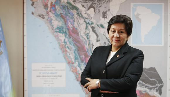 Vilca es ingeniera de minas por la Universidad Nacional del Altiplano de Puno y antes fue viceministra de Minas durante el Gobierno de Ollanta Humala desde agosto del 2011 hasta enero del 2012. (Foto: GEC)