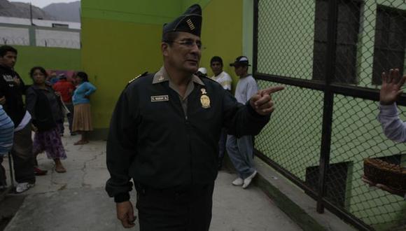 SE DEFIENDE. Garay lleva siete meses en el cargo y asegura que tratan de malograr su buena labor. (Rafael Cornejo)