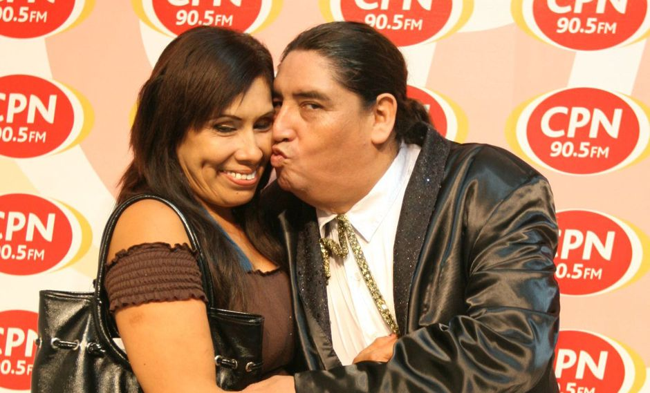 Tongo y su esposa Gladys Lupinta. (USI)